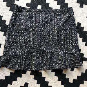 J. Crew Ruffle Skirt